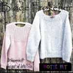 Strikket sweater fra Hotte Hit