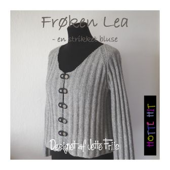 Frøken Lea - strikket bluse
